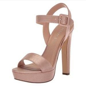 NWOT Madden Girl Rose Gold Heels